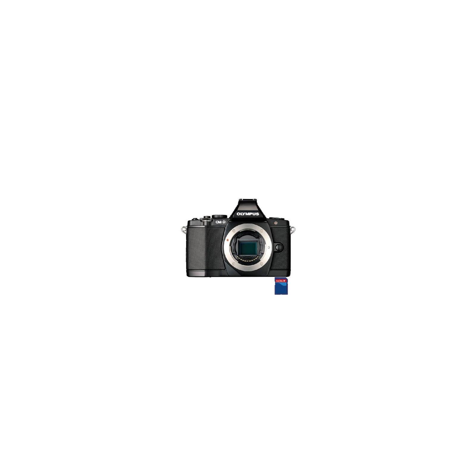 Цифровой фотоаппарат OLYMPUS OM-D E-M5 body black (V204040BE000)