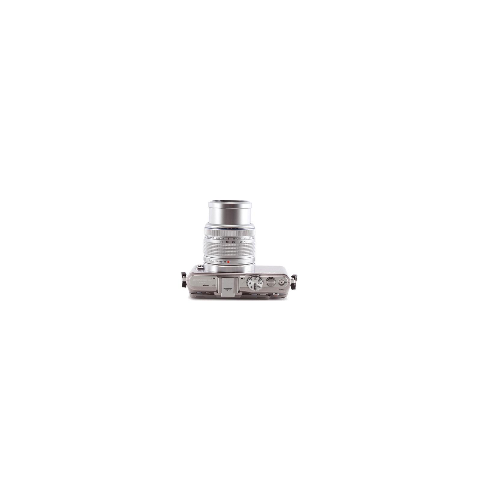 Цифровой фотоаппарат OLYMPUS PEN E-PL3 12-50 mm kit silver/silver (V20503FSE000) изображение 3