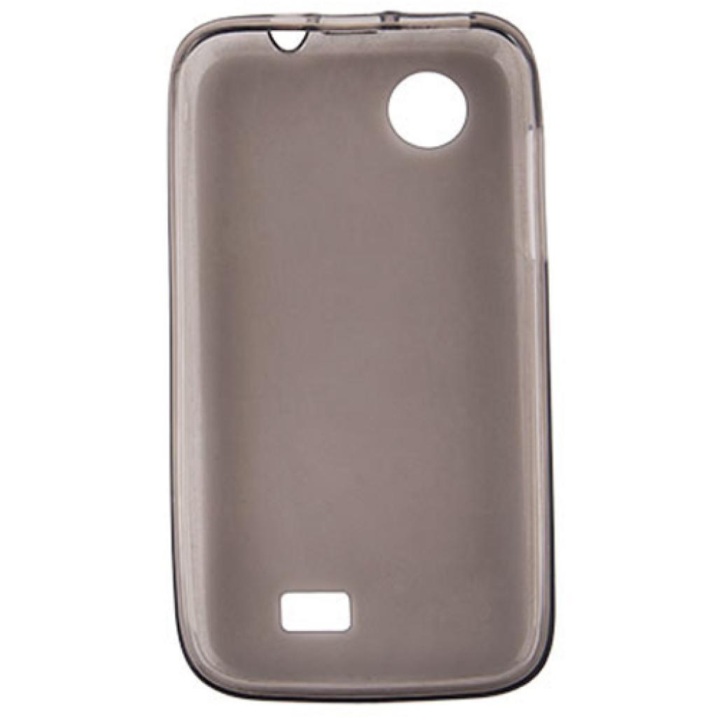 Чехол для моб. телефона Drobak для Lenovo A369 /Elastic PU/Black-Clear (211409) изображение 2
