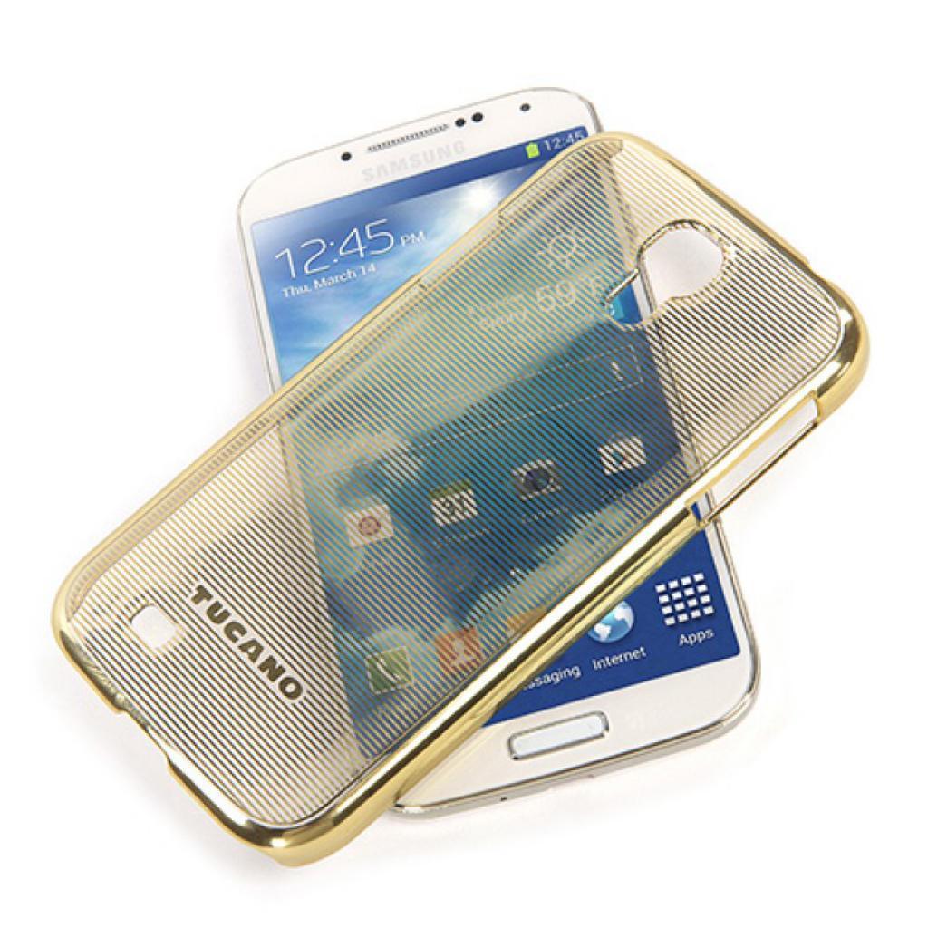 Чехол для моб. телефона Tucano для Samsung Galaxy S4 /Plesse/Gold (SG4PLGL) изображение 3