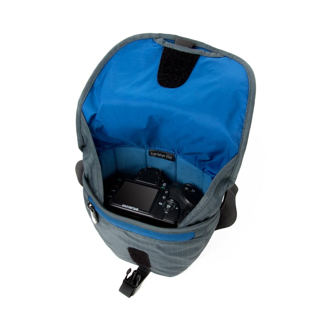 Фото-сумка Crumpler Light Delight 2500 (steel grey) (LD2500-010) изображение 2