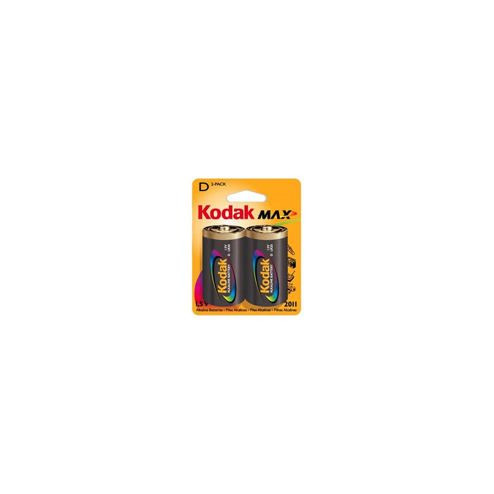 Батарейка Kodak LR20 KODAK MAX * 2 (30952843)