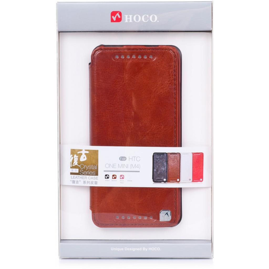 Чехол для моб. телефона HOCO для HTC ONE Mini /Crystal (HT-L012 Brown)