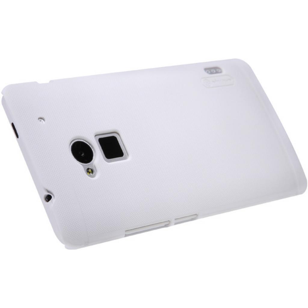 Чехол для моб. телефона NILLKIN для HTC ONE Max /Super Frosted Shield/White (6104556) изображение 4
