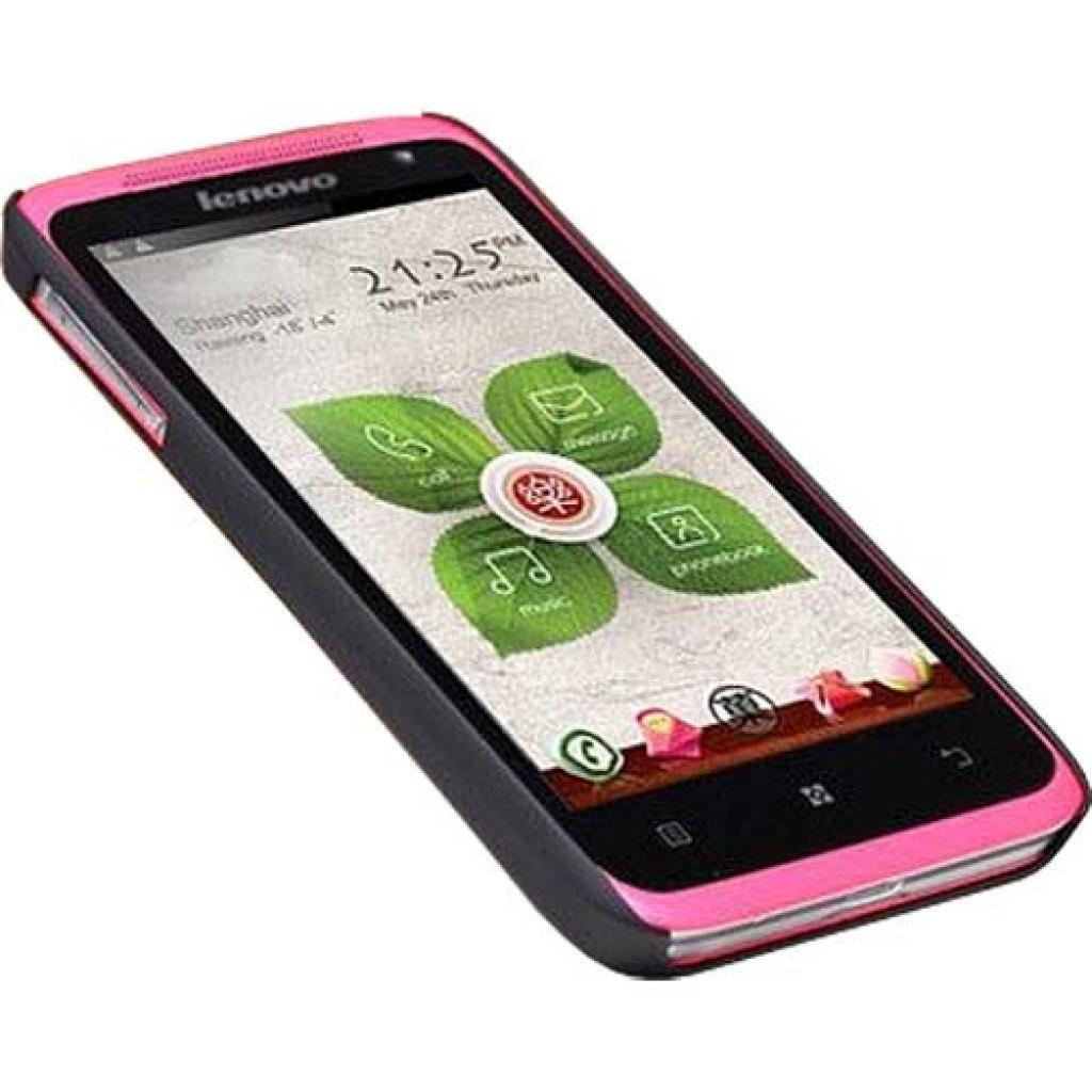 Чехол для моб. телефона NILLKIN для Lenovo S720 /Super Frosted Shield/Black (6100810) изображение 3