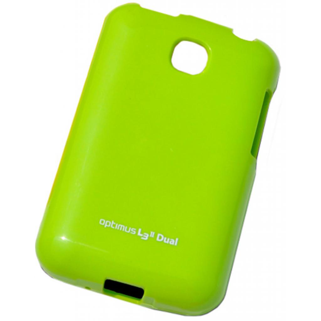 Чехол для моб. телефона VOIA для LG E435 Optimus L3II Dual /Jelly/Lime (6068175)