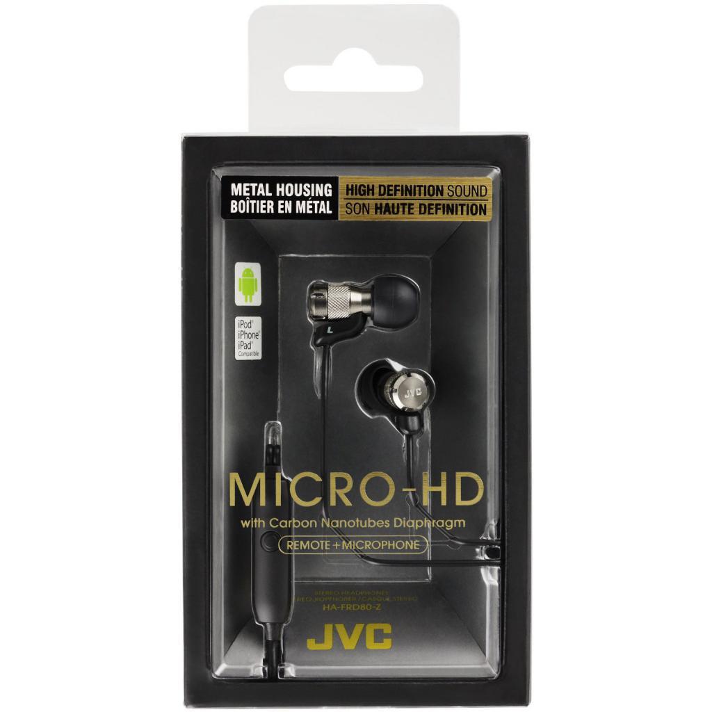 Наушники JVC Micro-HD HA-FRD80 (HA-FRD80-Z-E) изображение 4