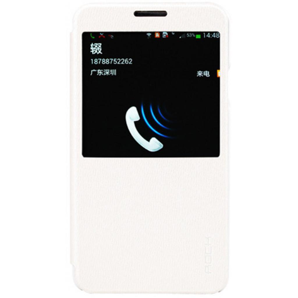 Чехол для моб. телефона Rock Samsung Note3 N9000 Excel series white (Note III-55753)