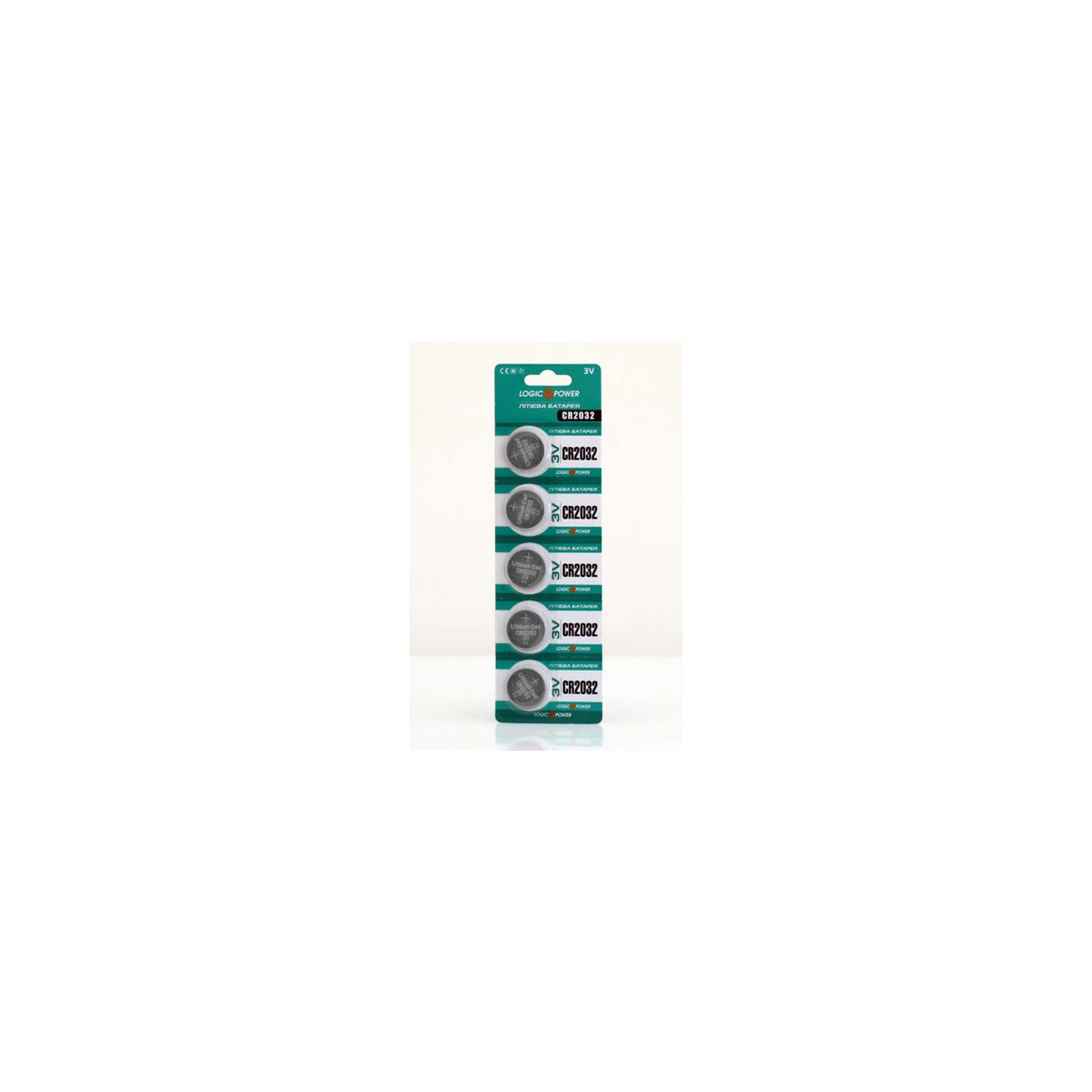 Батарейка LogicPower CR2032 Lithium * 1 (3440) изображение 2