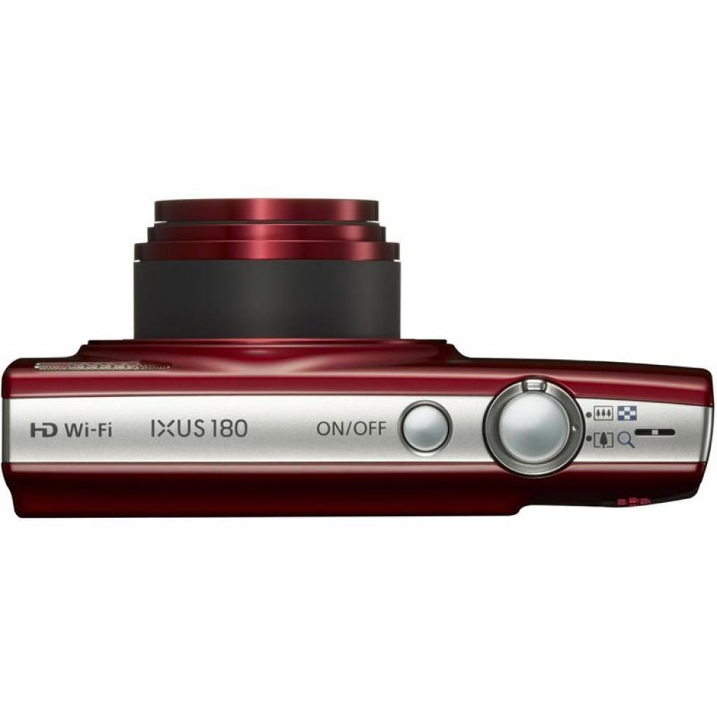 Цифровой фотоаппарат Canon IXUS 180 Red (1088C009) изображение 3