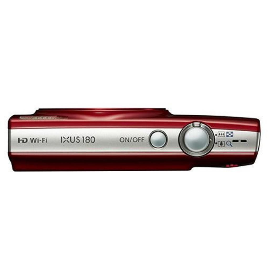 Цифровой фотоаппарат Canon IXUS 180 Red (1088C009) изображение 5