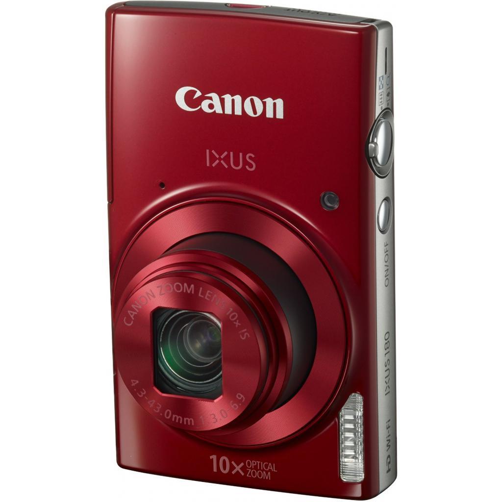 Цифровой фотоаппарат Canon IXUS 180 Red (1088C009) изображение 6