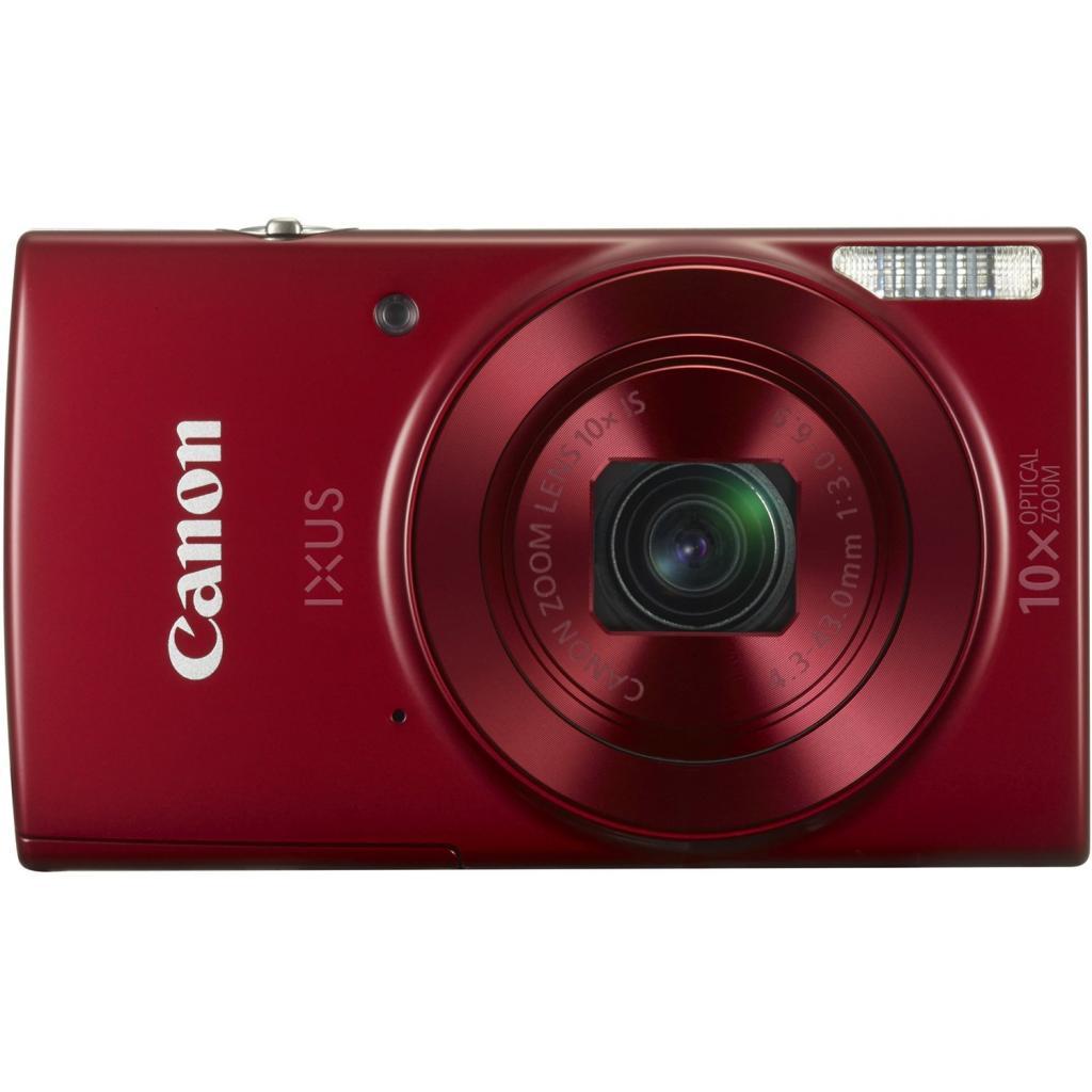 Цифровой фотоаппарат Canon IXUS 180 Red (1088C009)