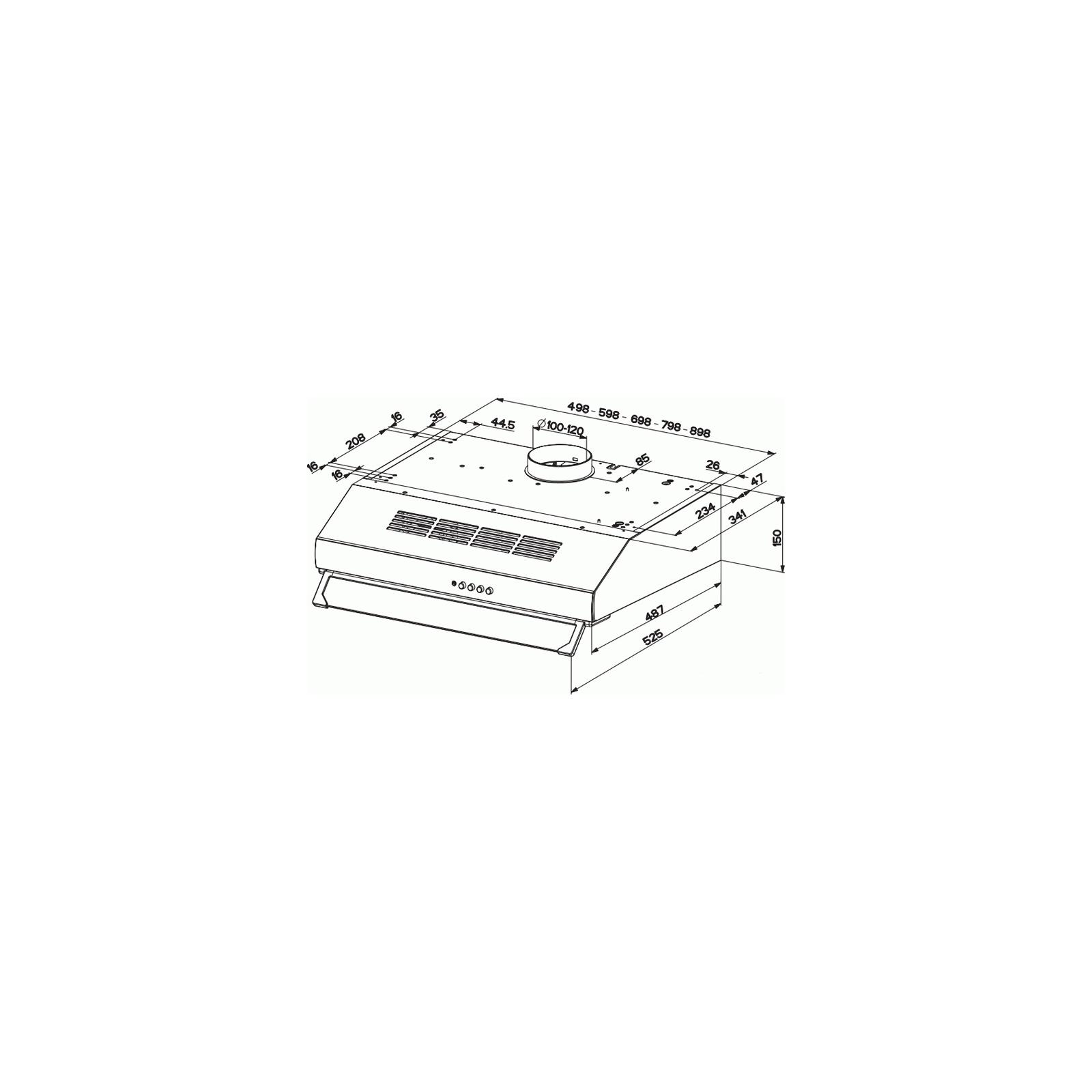 Вытяжка кухонная FABER 741 A50 X Plus изображение 2
