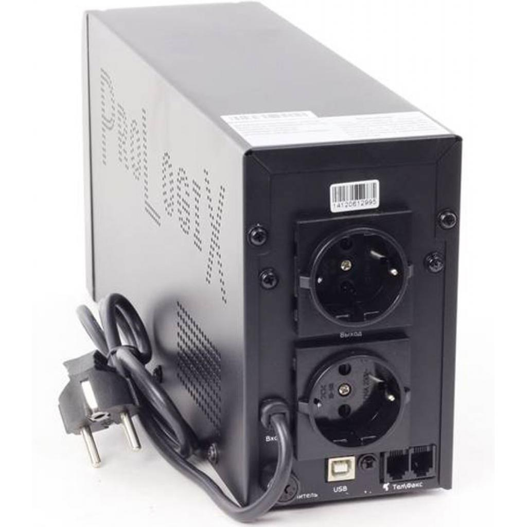 Источник бесперебойного питания PrologiX Standart 1200 LCD+USB изображение 2