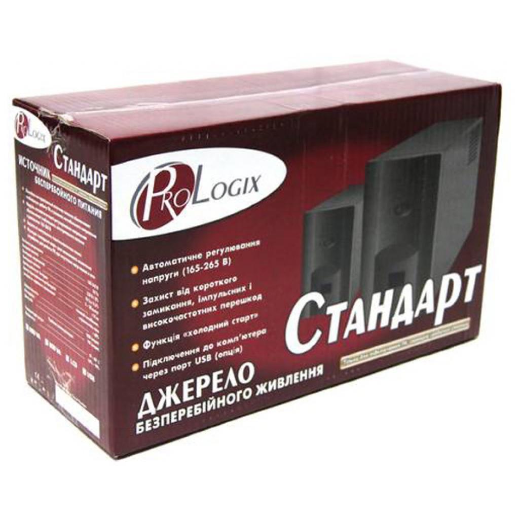 Источник бесперебойного питания PrologiX Standart 1200 LCD+USB изображение 3