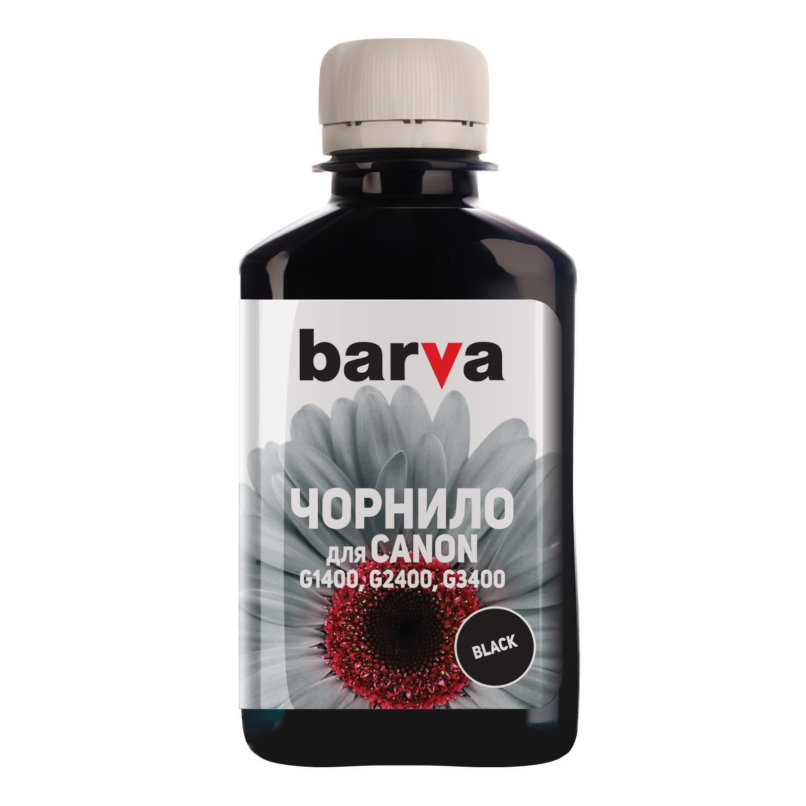 Чернила BARVA CANON GI-490 180г BLACK Pigmented (G490-503)