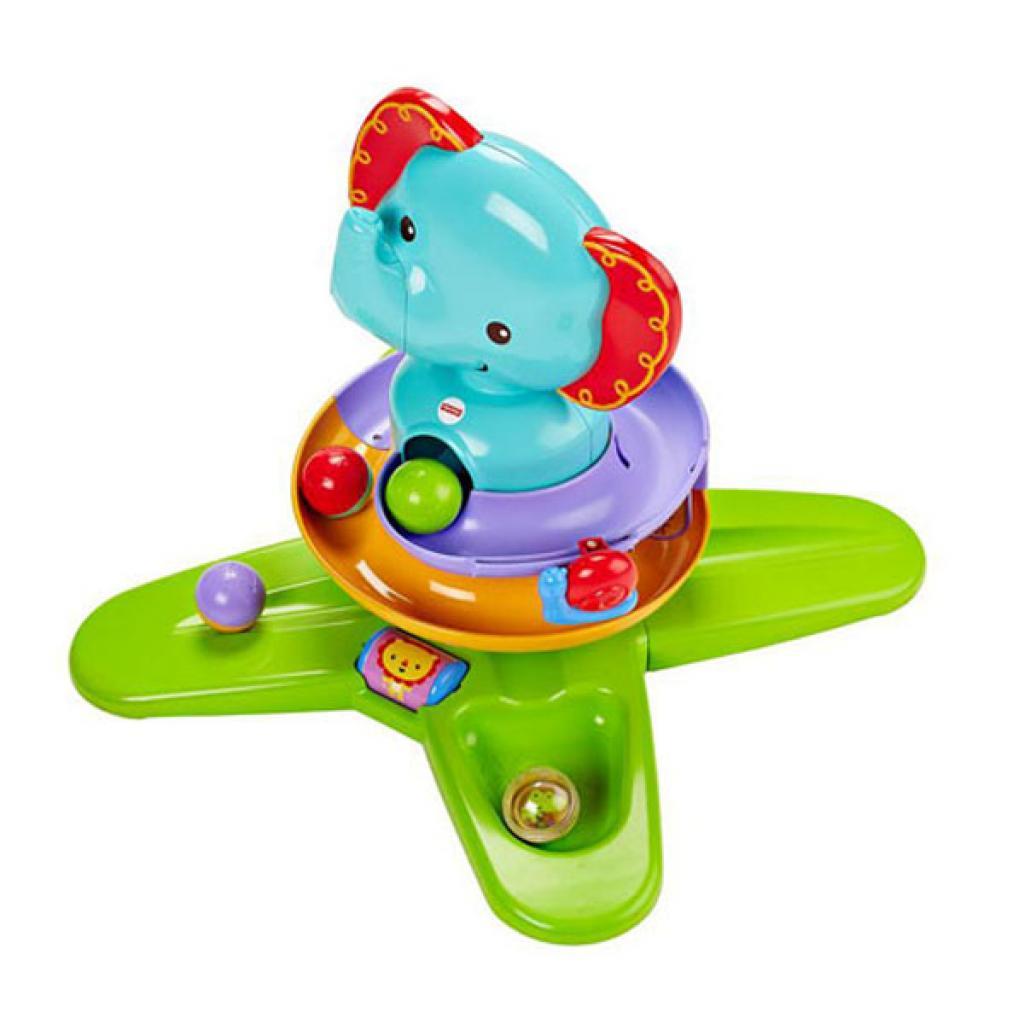 Игровой набор Fisher-Price Музыкальный Слонененок с шариками (DGT87) изображение 2