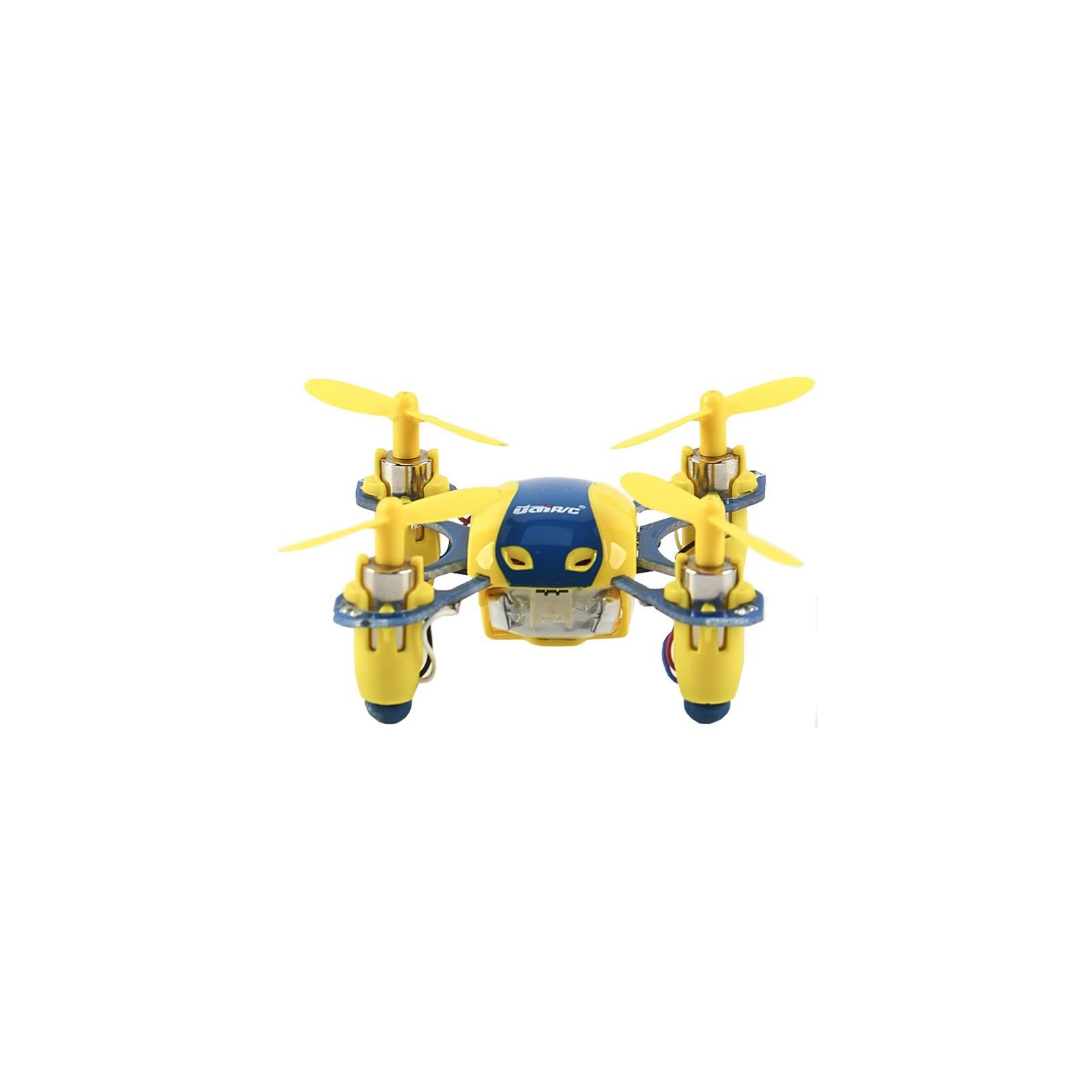 Квадрокоптер UDIRC 2,4 GHz 40 мм мини 3.7V (U840 Yellow/Blue) изображение 3