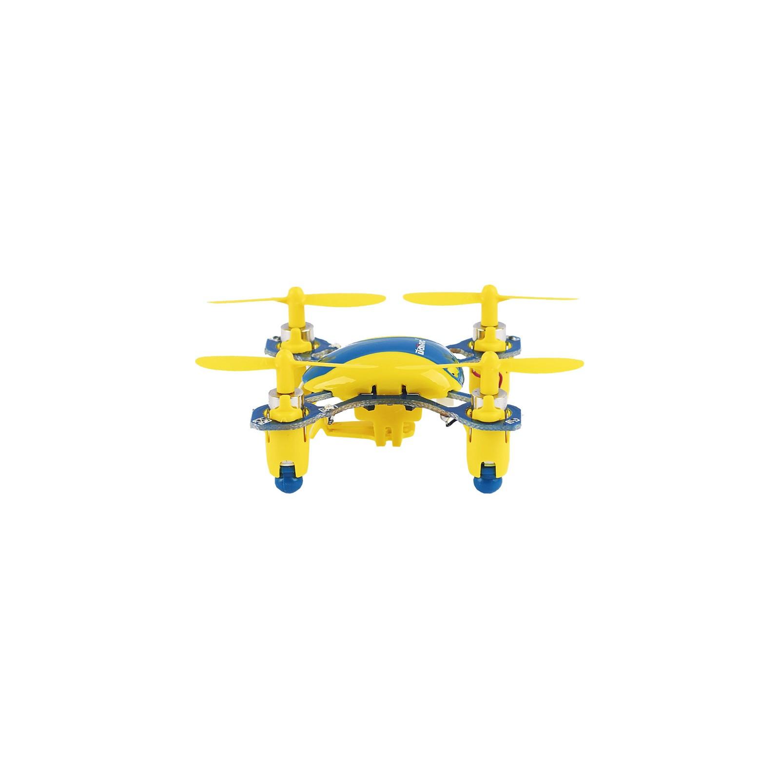 Квадрокоптер UDIRC 2,4 GHz 40 мм мини 3.7V (U840 Yellow/Blue) изображение 4