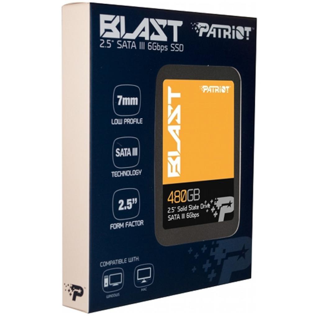 """Накопитель SSD 2.5"""" 480GB Patriot (PBT480GS25SSDR) изображение 3"""