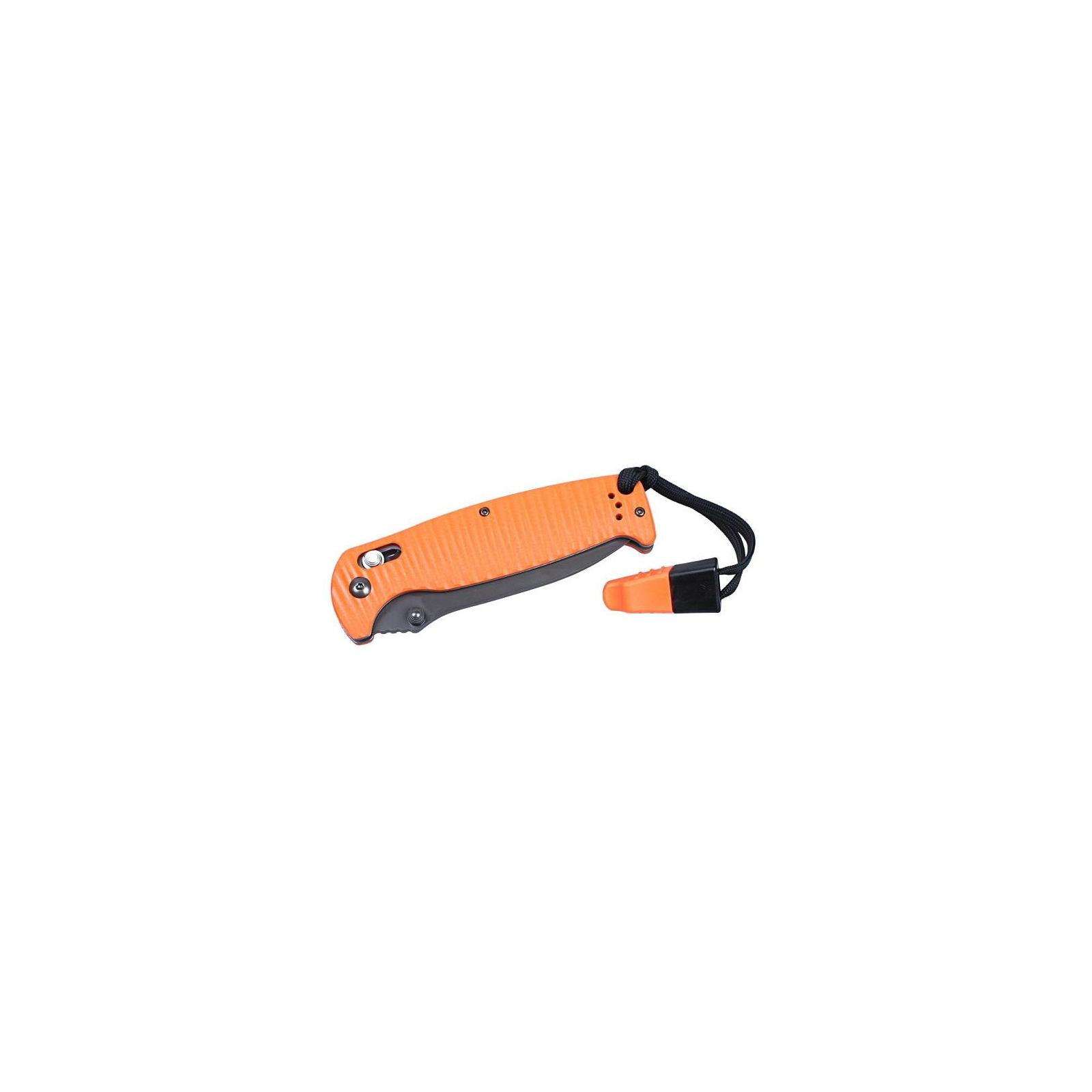 Нож Ganzo G7413P-BK-WS чёрный (G7413P-BK-WS) изображение 4