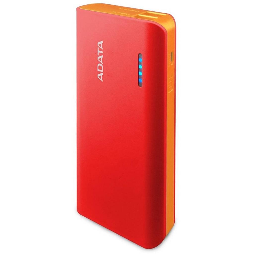 Батарея универсальная ADATA PT100 10000mAh Red-Orange (APT100-10000M-5V-CRDOR)