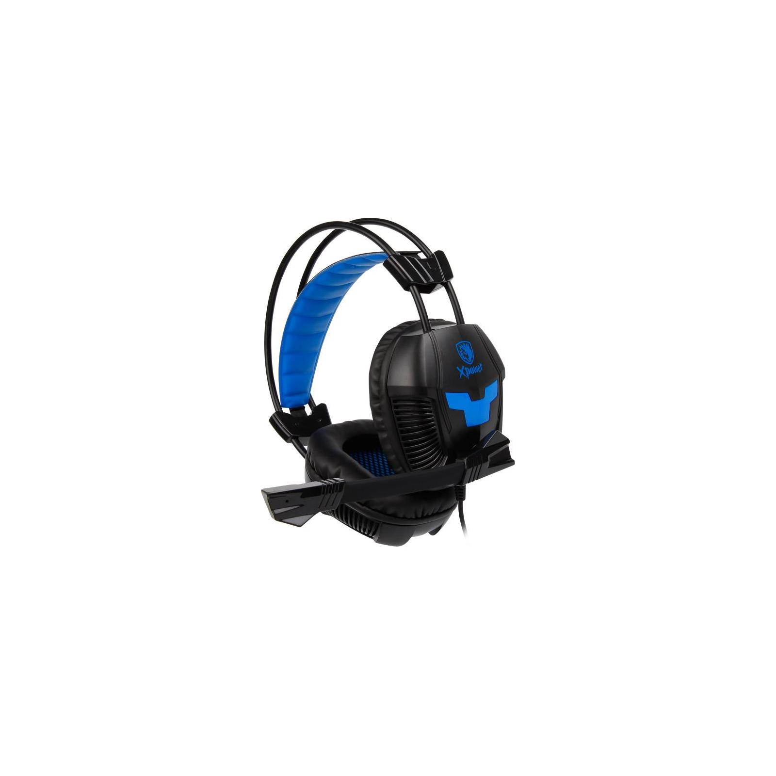 Наушники SADES Xpower Black/Blue (SA706-B-BL) изображение 3