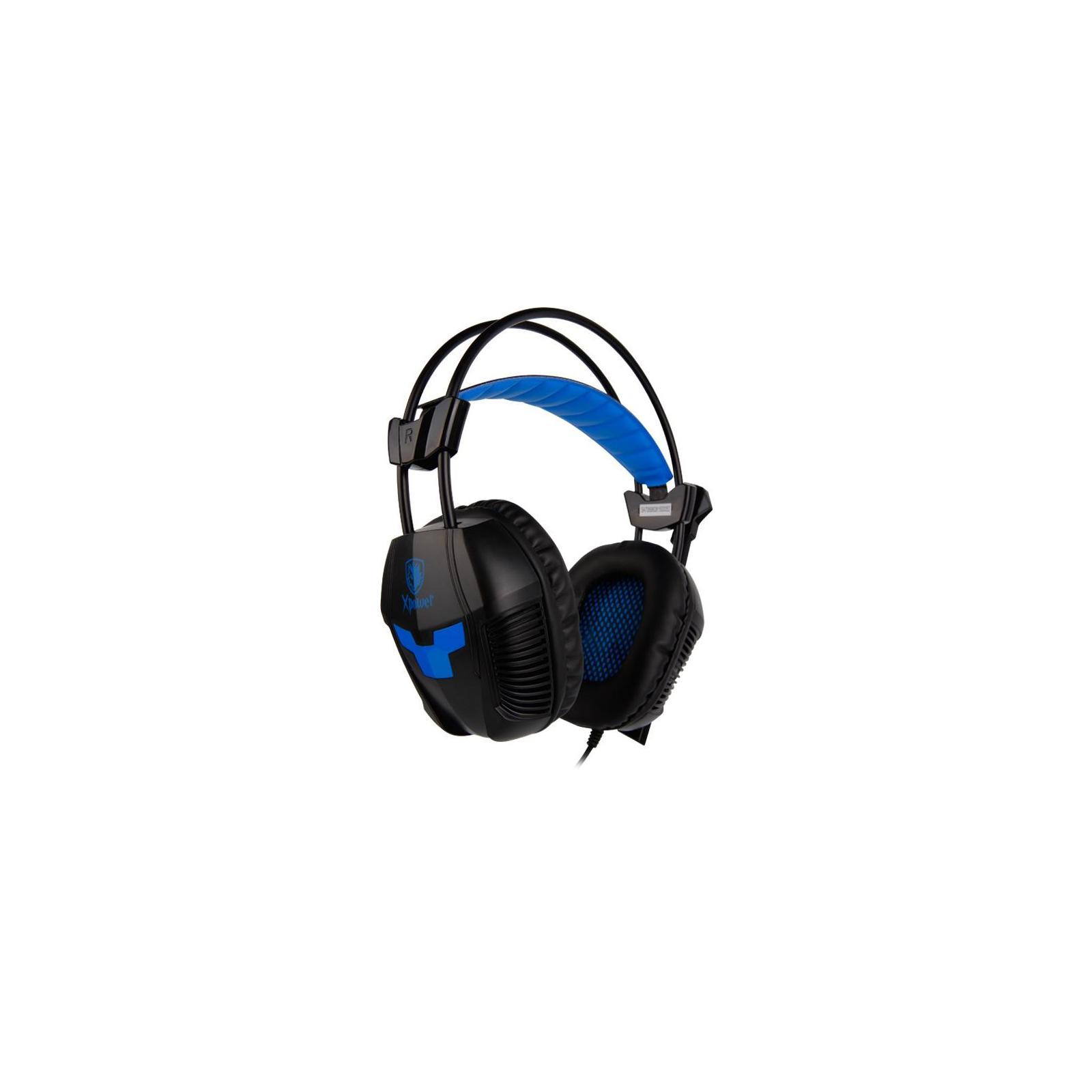 Наушники SADES Xpower Black/Blue (SA706-B-BL) изображение 4