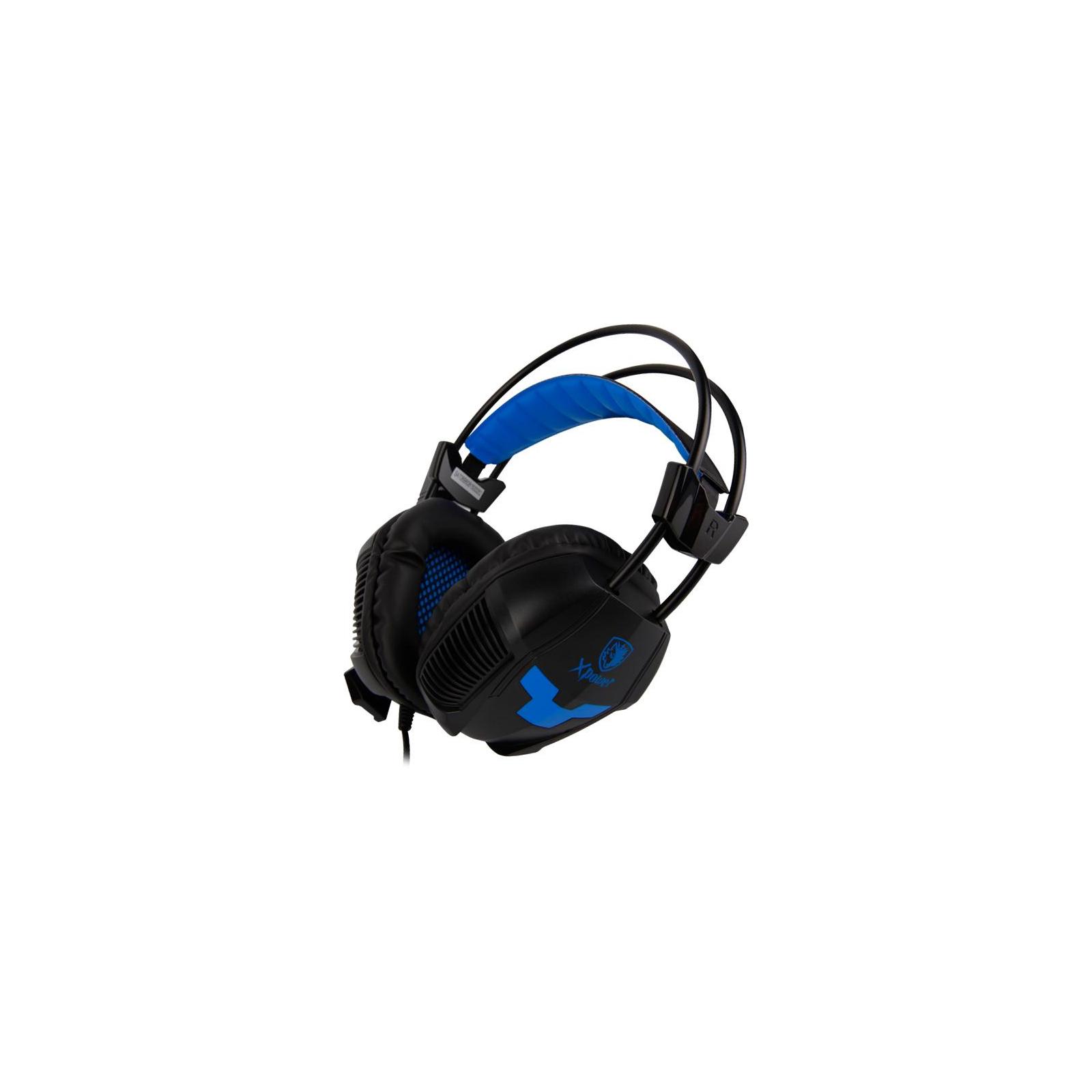 Наушники SADES Xpower Black/Blue (SA706-B-BL) изображение 5