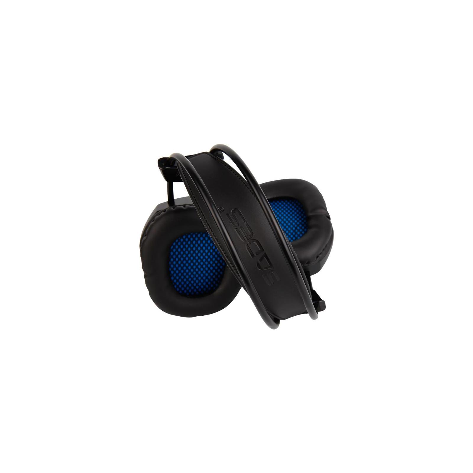 Наушники SADES Xpower Black/Blue (SA706-B-BL) изображение 7