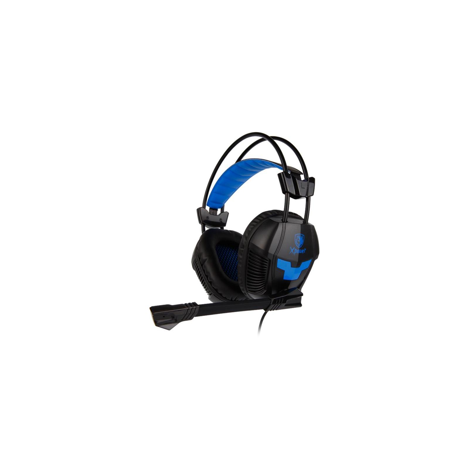 Наушники SADES Xpower Black/Blue (SA706-B-BL)