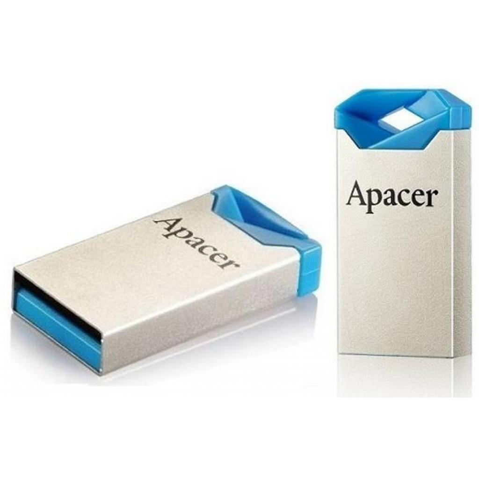 USB флеш накопитель Apacer 64GB AH111 Blue USB 2.0 (AP64GAH111U-1) изображение 4