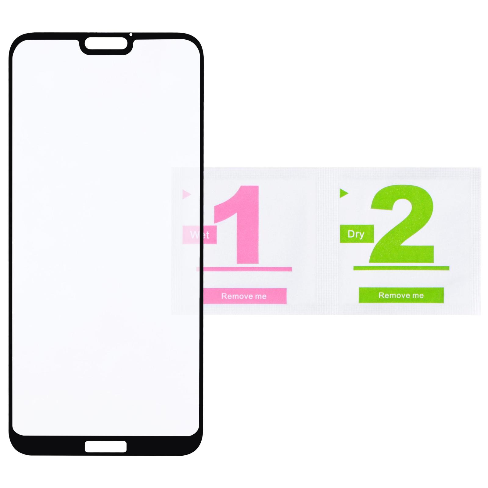 Стекло защитное 2E для Huawei P20 Lite 3D Edge Glue (2E-TGHW-P20L-3D) изображение 2