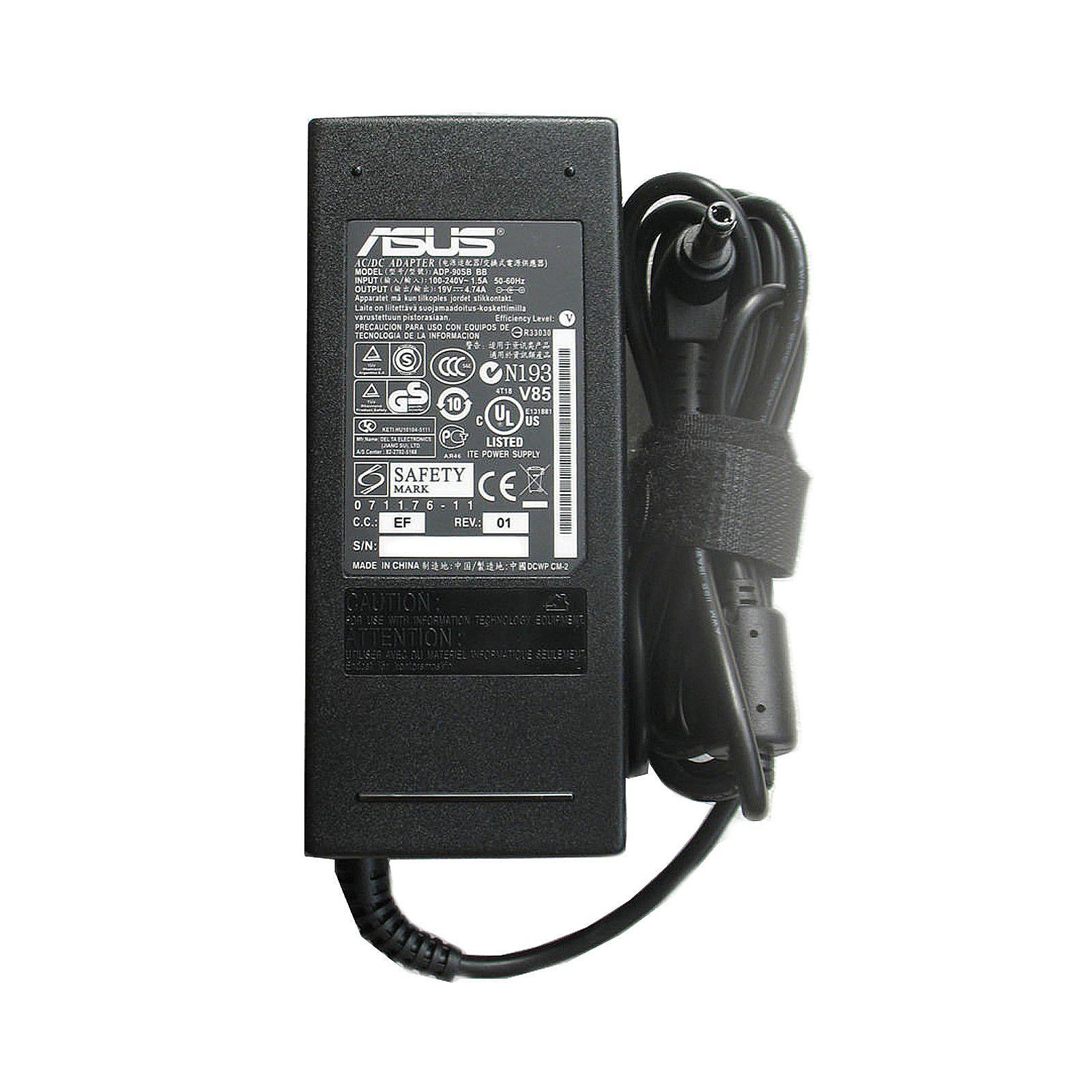 Блок питания к ноутбуку Grand-X Asus (19V 4.74A 90W) 5.5x2.5mm (GRXAS90W)