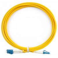 Оптичний патчкорд CMS LC/UPC-LC/UPC SingleMode, Duplex, 3m (UPC-3LCLC(SM)D(ON))
