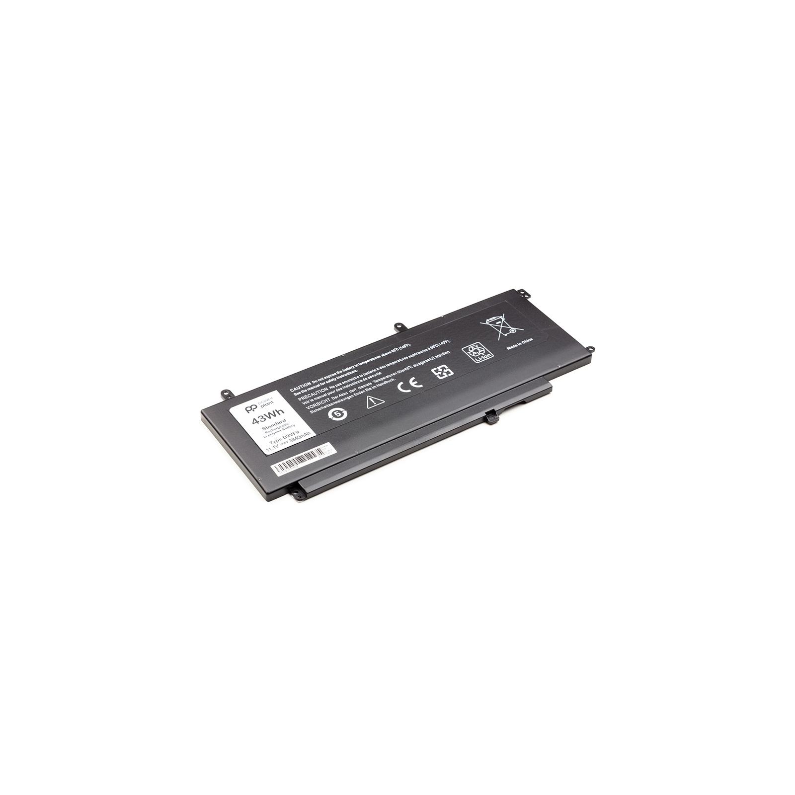 Аккумулятор для ноутбука DELL Inspiron 15 7547 (D2VF9) 11.1V 3840mAh PowerPlant (NB441112) изображение 2