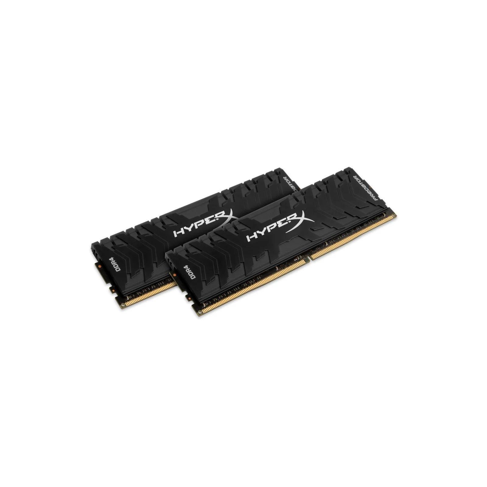 Модуль памяти для компьютера DDR4 16GB (2x8GB) 3600 MHz HyperX Predator RGB Kingston (HX436C17PB4AK2/16) изображение 4