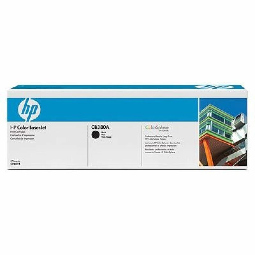 Картридж HP CLJ CP6015 Black (CB380A)