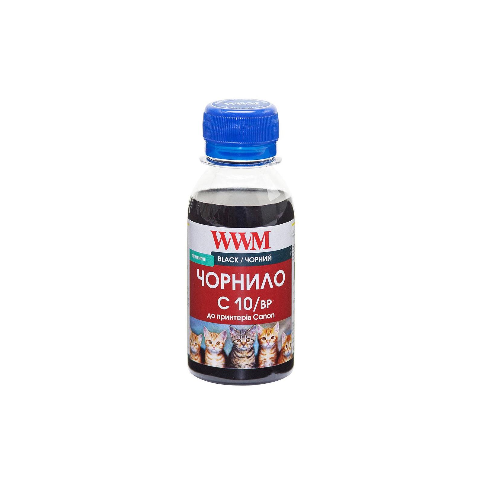 Чернила WWM CANON PG440/510/512/PGI520 BlackPigm 100мл (C10/BP-2)