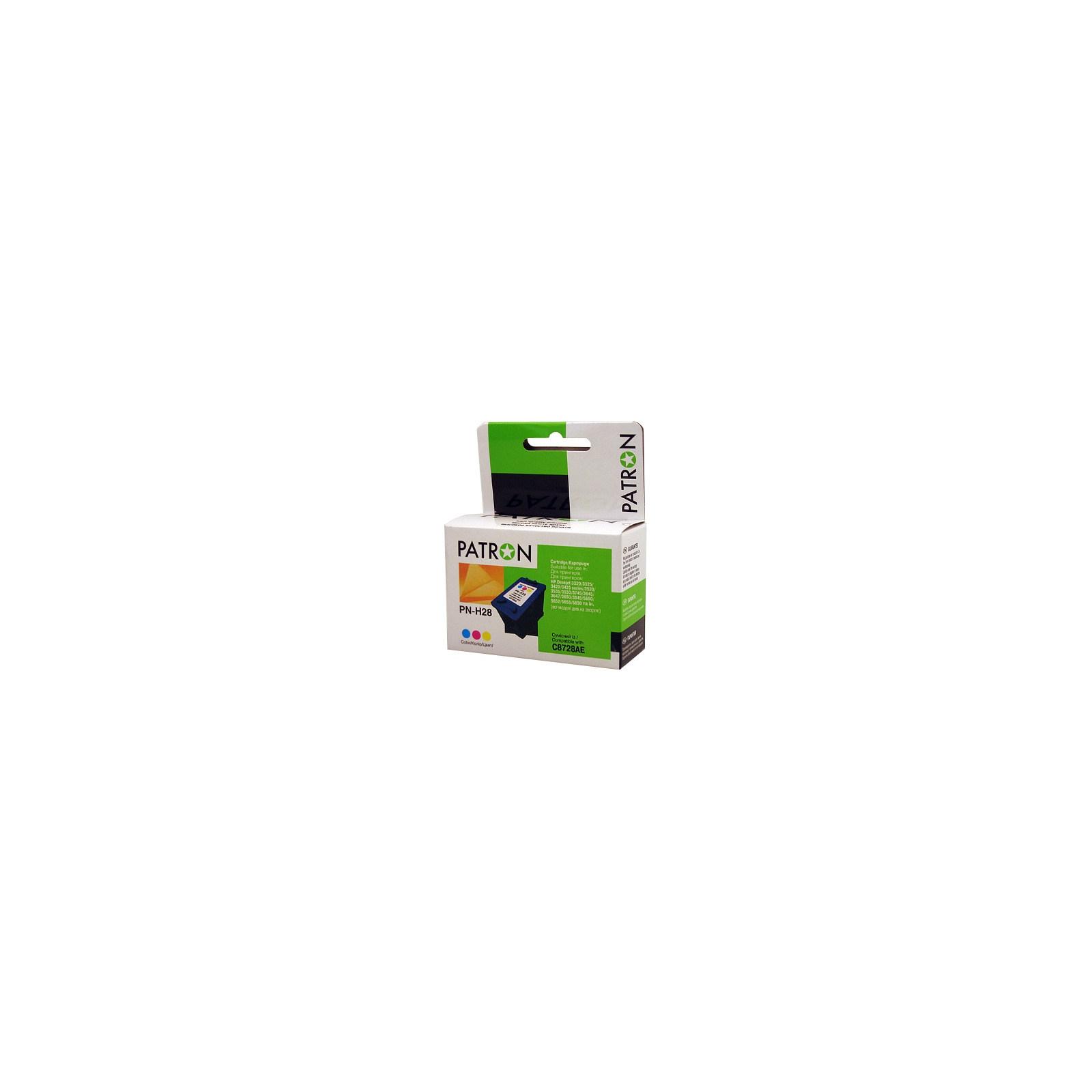 Картридж PATRON для HP PN-H28 COLOUR (C8728AE) (CI-HP-C8728AE-C-PN)