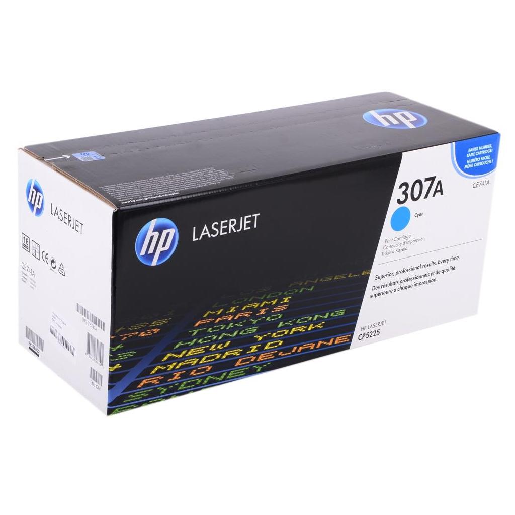Картридж HP CLJ  307A cyan (CE741A) изображение 2