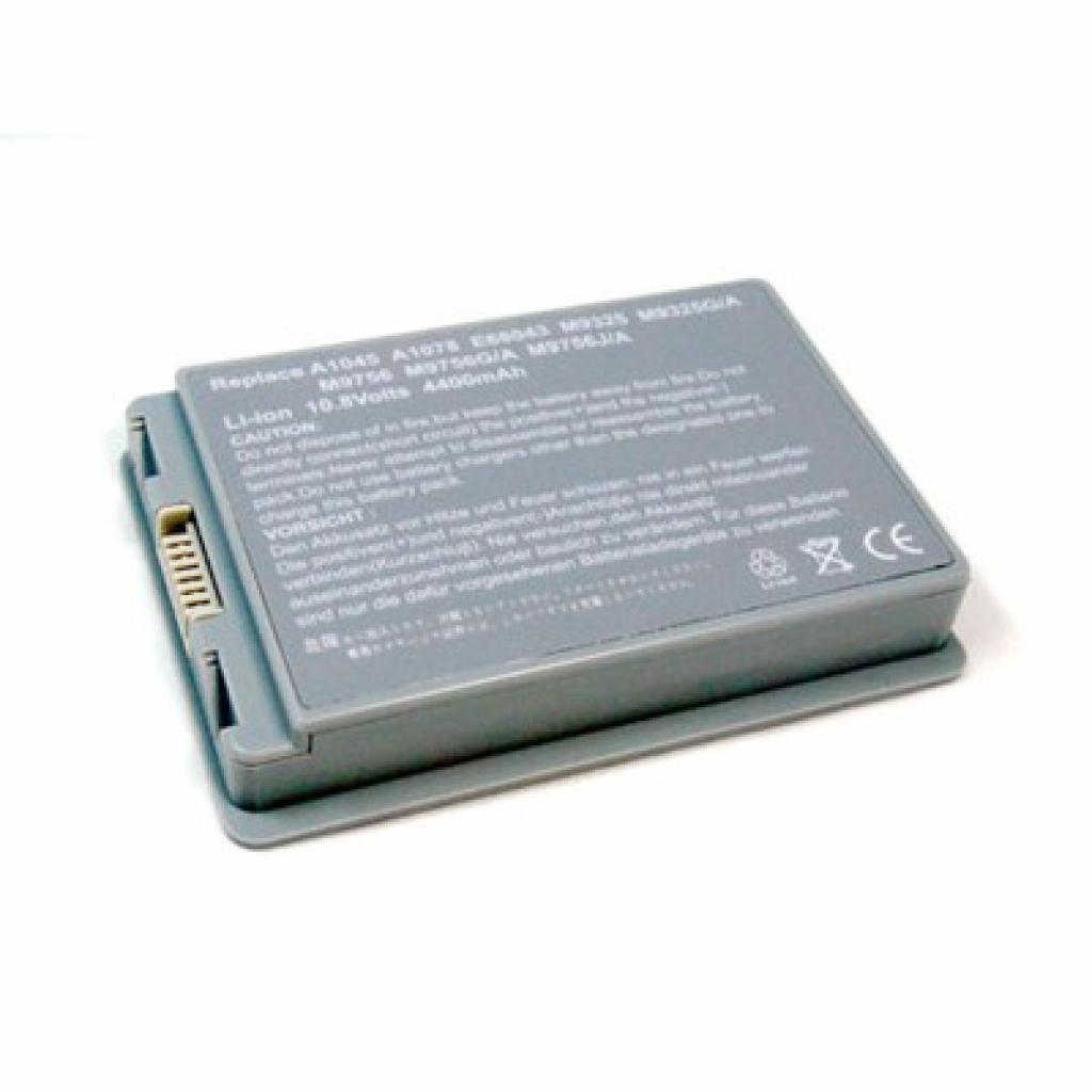 Аккумулятор для ноутбука Apple A1078 PowerBook G4 15-inch BatteryExpert (A1078 L 52)
