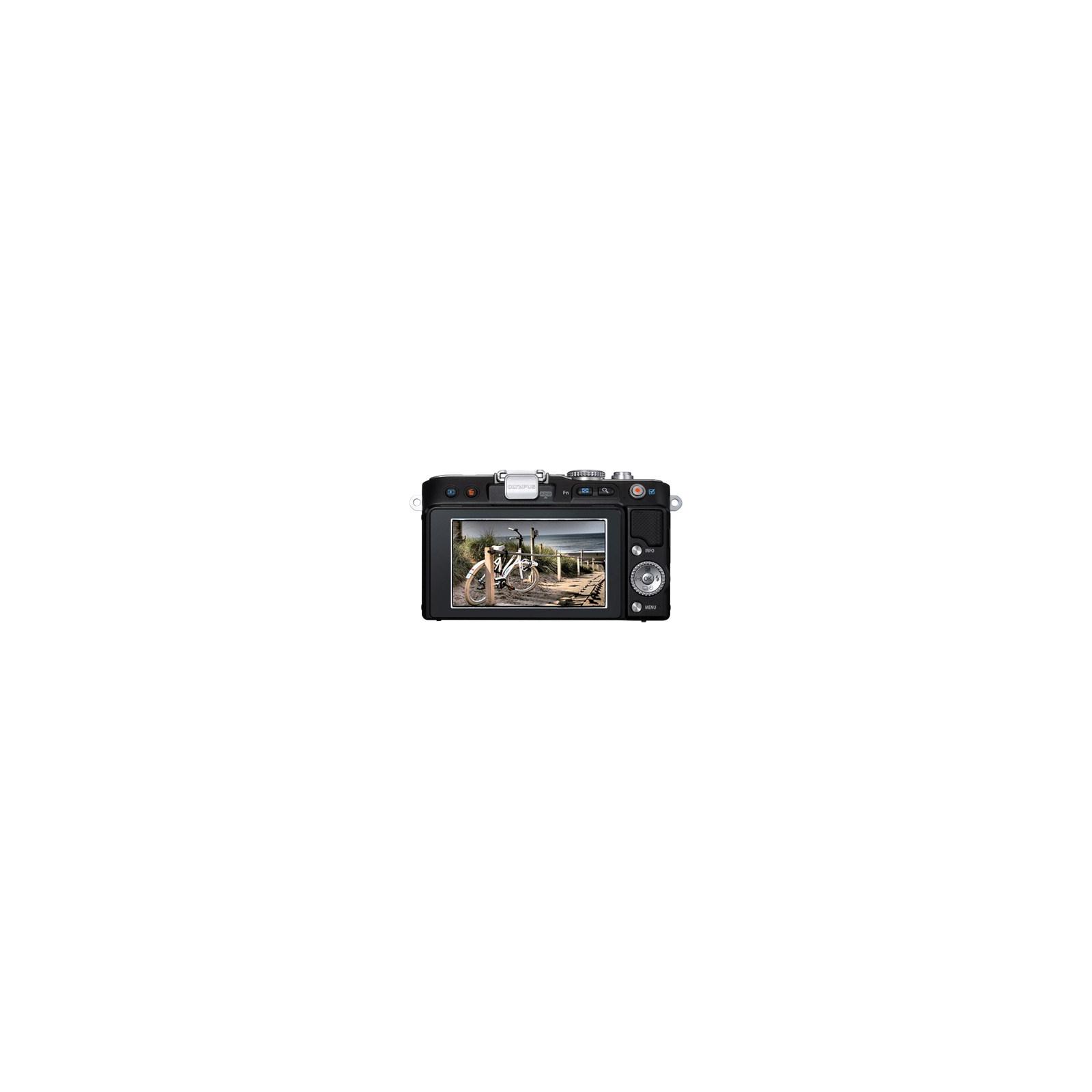 Цифровой фотоаппарат OLYMPUS PEN E-PL3 14-42 mm kit black/black (V20503BBE000/V205031BE000) изображение 2