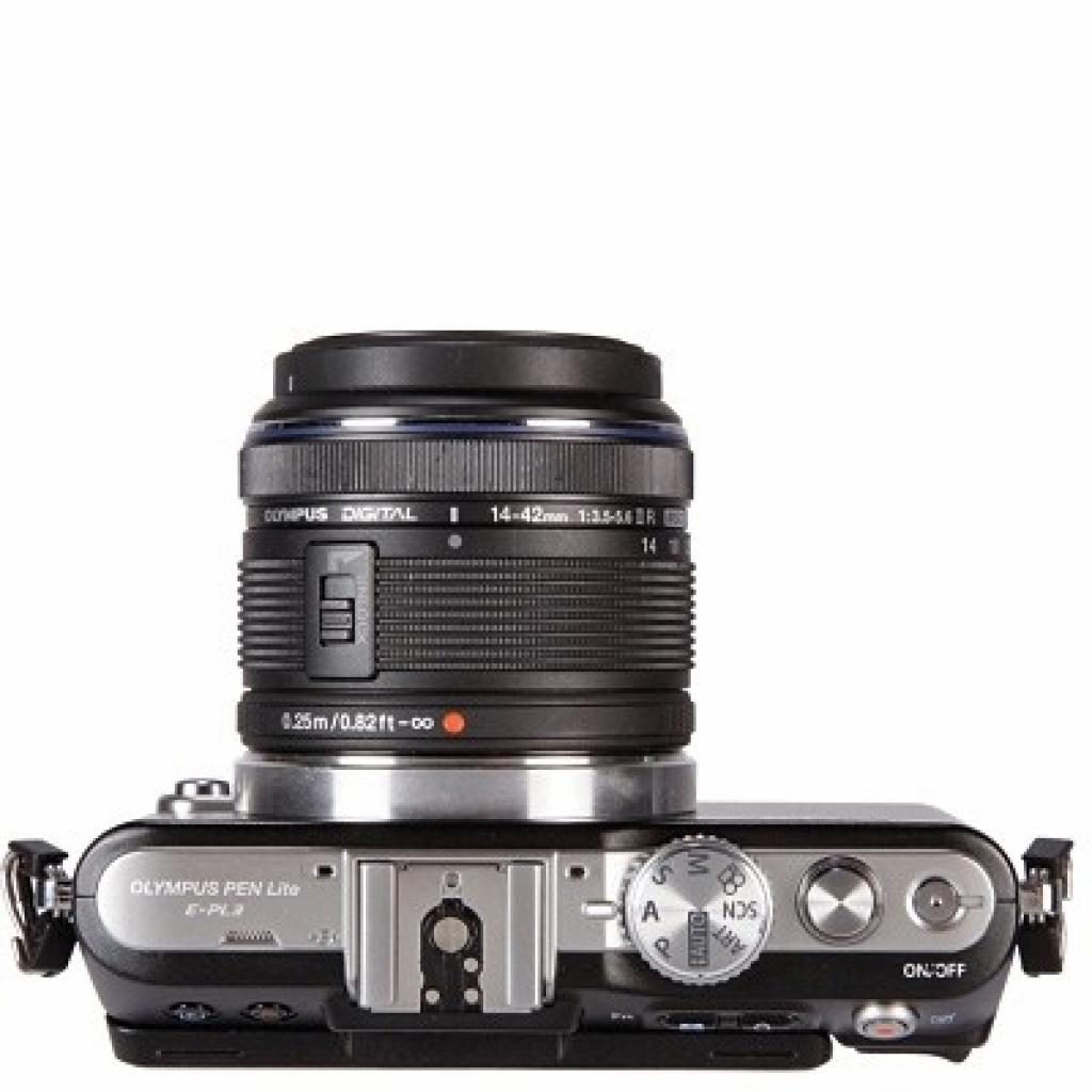 Цифровой фотоаппарат OLYMPUS PEN E-PL3 14-42 mm kit black/black (V20503BBE000/V205031BE000) изображение 3