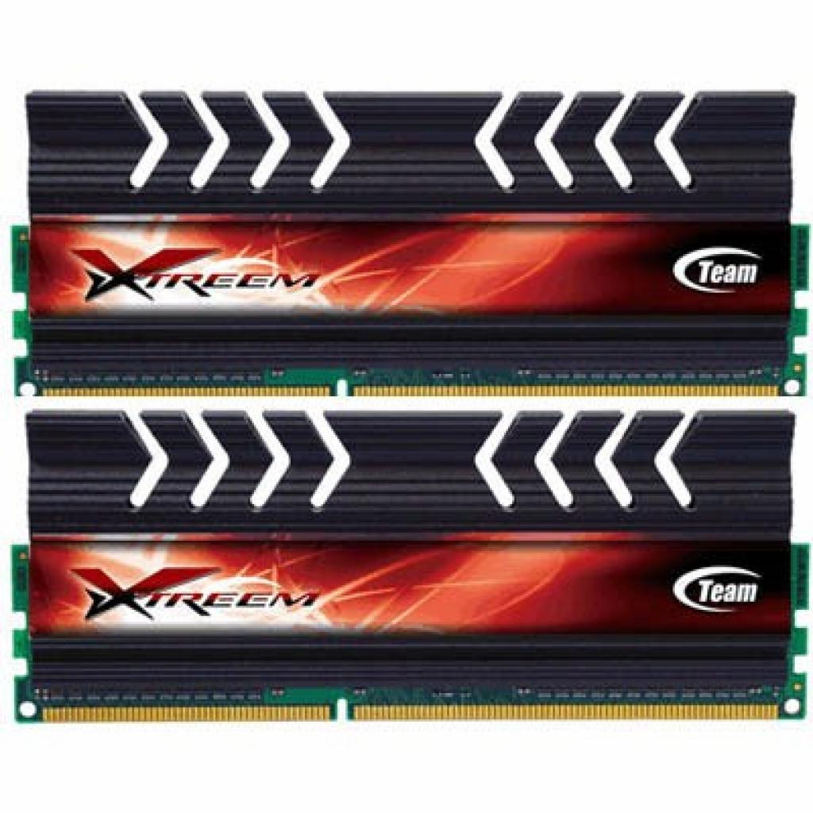 Модуль памяти для компьютера DDR3 8GB (2x4GB) 2400 MHz Team (TXD38G2400HC10QDC01)