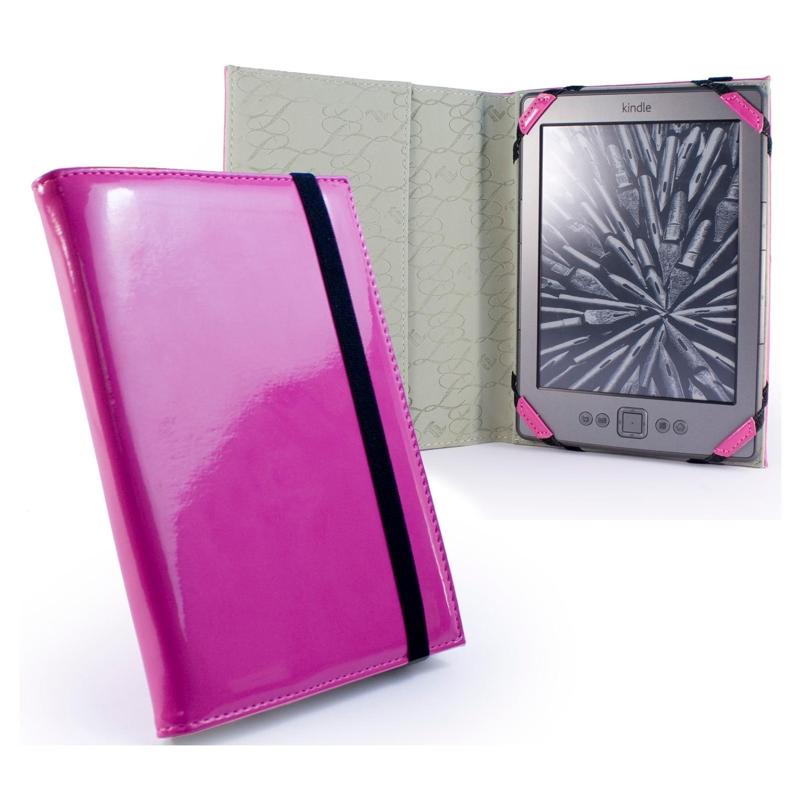 Чехол для электронной книги Tuff-Luv 6 Slim Book Shiny Pink (A7_26)