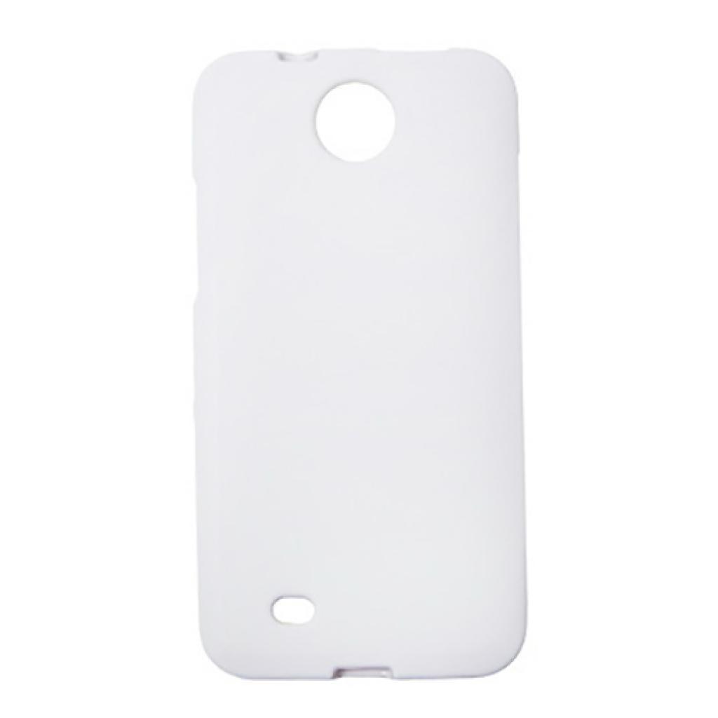 Чехол для моб. телефона Drobak для HTC Desire 300 /ElasticPU/White (218874)