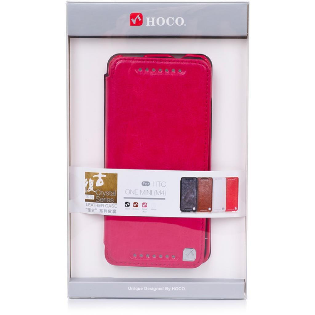 Чехол для моб. телефона HOCO для HTC ONE Mini /Crystal (HT-L012 Rose Red)