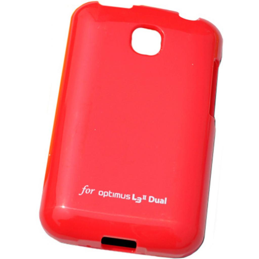 Чехол для моб. телефона VOIA для LG E435 Optimus L3II Dual /Jelly/Red (6068173)